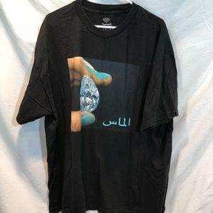 Diamond supply Co Shirt size XXL